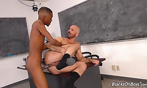A hairless twink. A mature, hairy `DILF`. A student who is w...