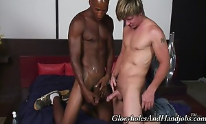 I could tell right away this his sweet body had never been t...